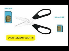 Jak przyciąć kartę SIM do rozmiaru Micro SIM