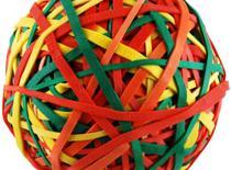 Jak zrobić piłkę z gumek