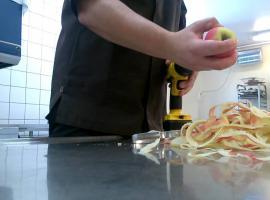 Jak szybko obrać jabłka