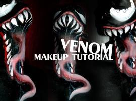 Jak wykonać makijaż na Halloween - Venom