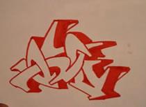 Jak narysować graffiti wildstyle