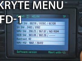 Jak wejść w ukryte menu nawigacji (VW, Skoda, Seat, Ford)