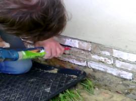 Jak fugować cegły