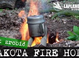 Jak zrobić ognisko Dakota Fire Hole