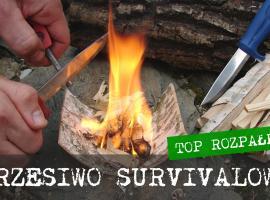 Jak rozpalić ogień - najlepsze rozpałki do krzesiwa survivalowego
