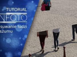 Jak usuwać ludzi ze zdjęć, redukcja szumu i tryb stosu w Photoshop