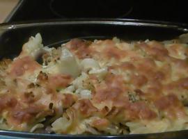 Jak zrobić obiad za 5 zł - zapiekanka z serem i pieczarkami