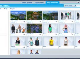Jak pobrać rodziny, domy i pomieszczenia z galerii w The Sims 4