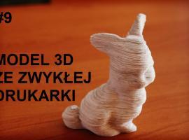 Jak wykonać papierowy model 3D ze zwykłej drukarki