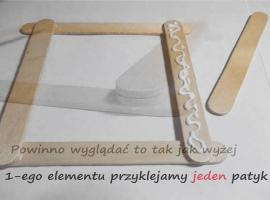Jak zrobić podstawkę pod telefon lub tablet z patyczków