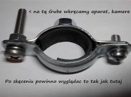 Jak zamocować kamerę na rowerze (uchwyt)