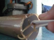 Jak zrobić działko z gumki i rolki