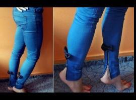 Jak przerobić spodnie jeansowe