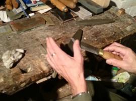Jak naostrzyć nóż zrobiony własnoręcznie