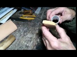 Jak zszyć pochwę noża - zakończenie
