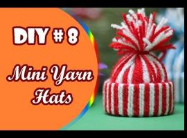 Jak zrobić dekoracje świąteczne w kształcie czapeczek