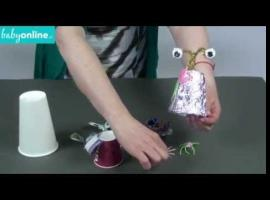 Jak zrobić motylka z paragonu i spinki