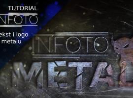 Jak tworzyć efekty tekstowe w Photoshopie - metalowe logo
