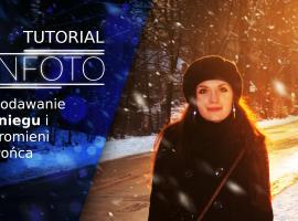 Jak dodać śnieg i promienie światła do zdjęcia