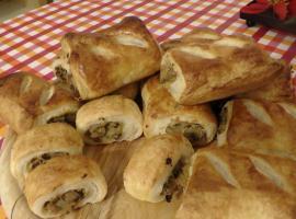 Jak zrobić paszteciki z ciasta francuskiego z kapustą i grzybami