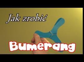 Jak zrobić bumerang plastikowy