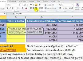 Jak zamienić tekst na liczbę i liczbę na tekst w Excel 2010