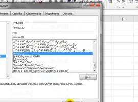 Jak dodawać setne części sekundy w Excelu