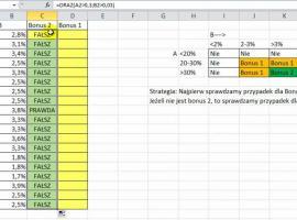 Jak opanować bonusy, tabelę prawdy i funkcje ORAZ i NIE w Excelu