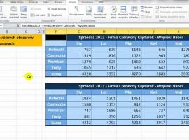 Jak drukować różne obszary w Excelu na osobnych stronach