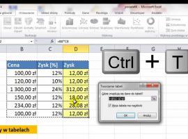Jak korzystać z formuł w tabelach