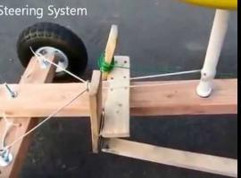 Jak zbudować gokarta z napędem z wkrętarki