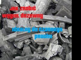 Jak zrobić węgiel drzewny - idealny do czarnego prochu