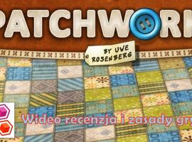 Jak grać w planszową grę Patchwork - zasady i recenzja