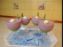 Jak zrobić deser z awokado kiwi i jagód