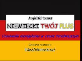 Jak opanować niemiecki - czasowniki nieregularne w czasie teraźniejszym