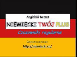 Jak opanować niemiecki - czasowniki regularne