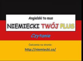 Jak opanować niemiecki - czytanie po niemiecku