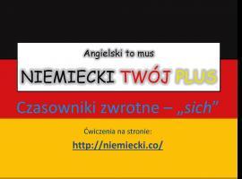 """Jak opanować niemiecki - Czasowniki zwrotne """"sich"""""""