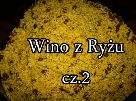 Jak zrobić wino ryżowe cz.2 - Wermut (wino ziołowe)