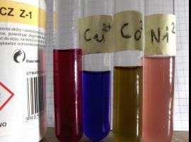Jak wykrywać niektóre metale przejściowe - Kompleksy TETA