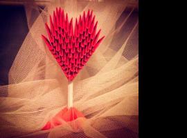 Jak zrobić serce z papieru - origami modułowe