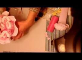 Jak zrobić bukiet z pampersów