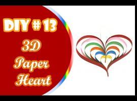 Jak wykonać ozdobne serca z pasków papieru