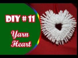 Jak zrobić serce z ozdobnego sznurka