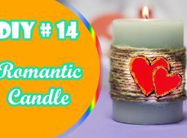 Jak zrobić romantyczną świeczkę na Walentynki