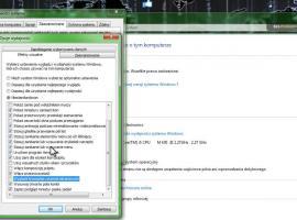 Jak przyśpieszyć Windows 7 - zbędne efekty wizualne
