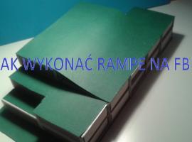 Jak zbudować rampę do fingerboarda