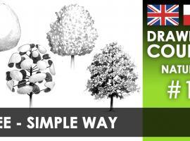 Jak narysować drzewo - prosto i efektownie