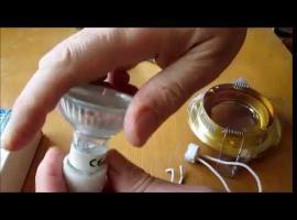 Jak montować punktowe oprawy halogenowe i sufitowe
