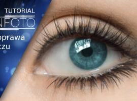 Jak wykonać retusz oczu - kolor tęczówek, rozjaśnienie, rzęsy